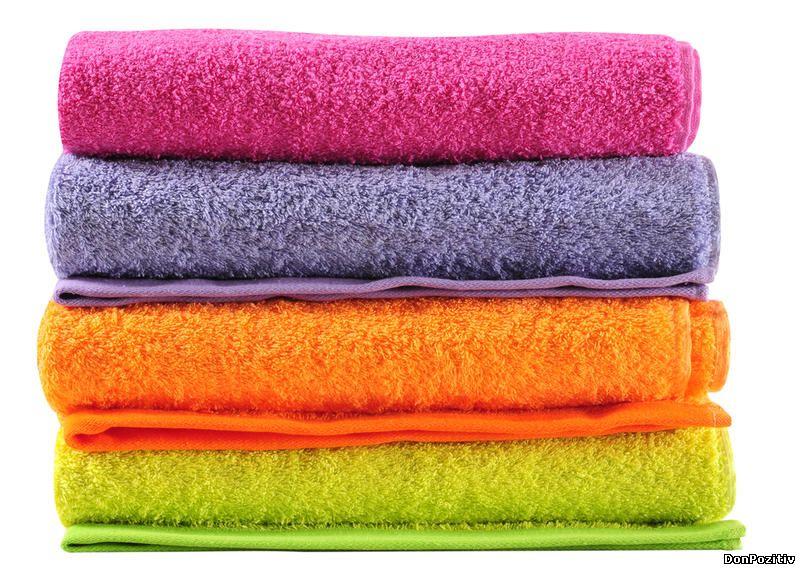 Махровые полотенца стали жесткими что делать